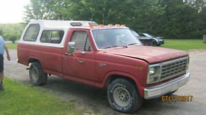 1980 Ford F-100 custom Pickup ...Truck  package deal..