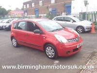 2008 (08 Reg) Nissan Note 1.4 16V VISIA + 5DR Hatchback RED + LOW MILES