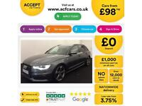 Audi A6 Avant Black Edition FROM £98 PER WEEK!