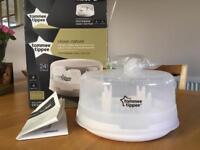 Tommee Tippee microwave sterilliser