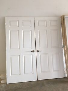 1-36in 6panel interior doors and frames