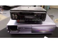 Car Stereo and 6 CD changer - JVC KS-FX230/F130 and CH-X99/X100