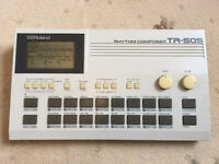 Vintage Roland TR-505 drum machine