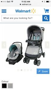 Car seat and stroller combo