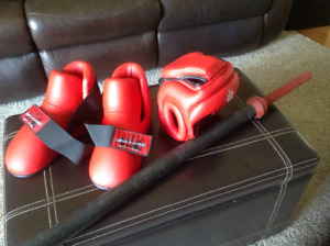 Karate/Tae Kwon Do Sparring Gear
