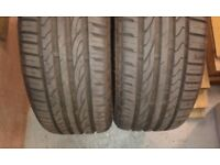 Two Event tyres 225/40R18 92W