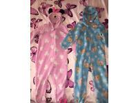 2 X girls onesies size 5-6 6-7 Minnie Mouse elsa frozen