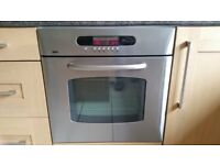 Zanussi Multifunction Oven & Ceramic Hob