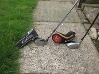 Hybrid rescue golf clubs 2 clubs that make a difference,TaylormadeR7 and a Tommy Armour 22degrees