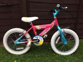 Girls Raleigh sunshine bike