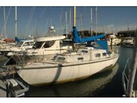 Live Aboard Sailing Boat - 30' Kingfisher - Canal/Coastal - London - River Boat - Price Negotiable