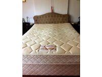 Slumberland King Size Bed