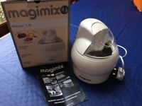 Magimix ice cream maker glacier 1.1litre