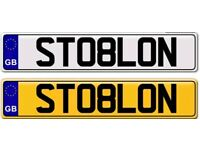 STOLEN A GANGSTER TYRE private number plate for sale