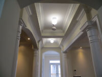carpentry, crown moulding, trimwork
