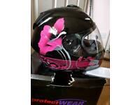 Full Face motor bike helmet size medium