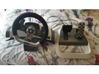 Xbox 360 force feedback steering