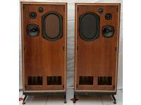 IMF TLS 80 transmission line Vintage HiFi Speakers