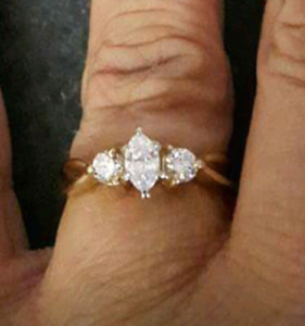 Engagement ring..... priced to sell