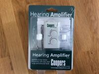 Coopers Hearing Amplifier, New