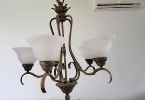 5 light chandelier for sale