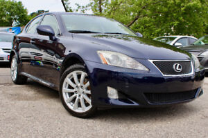SOLD - 2007 LEXUS IS250 AWD - ONE OWNER - ACCIDENT FREE