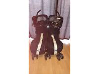 Maclaren Twin Techno Double Buggy & accessories