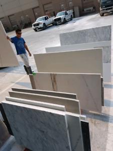 Remnant marble and quartz