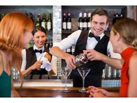 Bartenders and Barbacks Required, Immediate Start, Central London