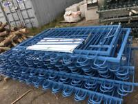 Steel Fencing panels and gates
