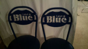 80s labatt blue chairs