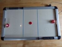 large electric air hockey table