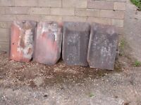 400 clay roof tiles