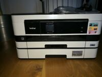 MFC-J4610DW All-in-One Inkjet Printer + Duplex, Fax, Paper Tray, Wireless - USED working
