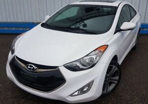 2013 Hyundai Elantra Coupe *LEATHER-SUNROOF*