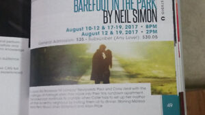 Rose Theatre Brampton- Barefoot in the park by Neil Simson