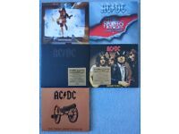 AC/DC. 5 Digitally Remastered cds for sale. All Excellent Condition.