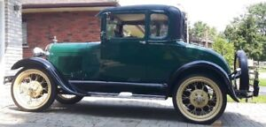 1929 Ford Model A Coupe (2 door)