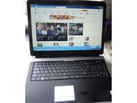Super dual core laptop Advent Brand 17 inch screen modle 6651