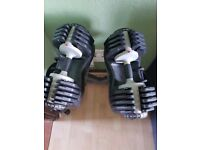 Bodymax 25kg Selectabell Dumbbells & Stand