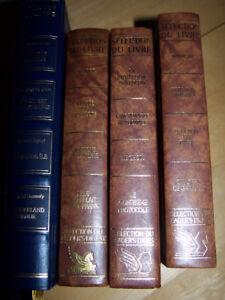 4 livres reliures de qualité, comprenant 4 histoires chacun