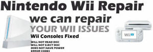 Nintendo Wii U or Wii - Professional Guaranteed repair services