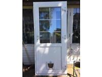 UPVC Double Glazed Door - Nearly New