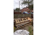 FREE job lot of wood ideal for wood burner all must go together