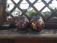 Mosaic lanterns