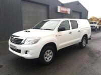 2012 Toyota Hilux 2.5 D4-D HL2 Double Cab 4x4 Diesel Pickup * 98k * NO VAT *