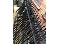 Wrought iron fencing very good price!