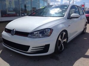 2015 Volkswagen Golf GTI 3-Dr 2.0T 6sp Sunroof No Accidents