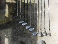 8 golf irons,3 metal woods and putter