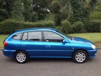 KIA RIO 1.3 2 OWNERS FROM NEW- VERY CLEAN LOW MILEAGE CAR CAR MOT AND SERVICE HISTORY